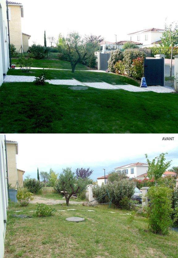 L'entrée Avant / Après
